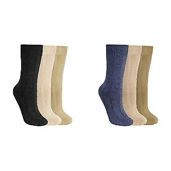 Trespass Adults Unisex Intense Walking Socks (3 Pairs)