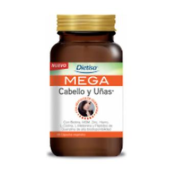Mega Hair and nails 60 vegetable capsules