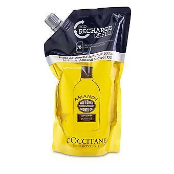 Almond cleansing & softening shower oil (eco refill) 236026 500ml/16.9oz
