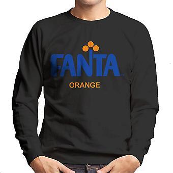 Camisola dos homens do logotipo retro de Fanta 1970s