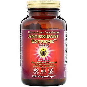 HealthForce Superfoods, Antioxidant Extreme, Version 9.1, 120 VeganCaps