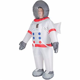 Inflatable Astronaut Halloween Costume Trick Or Treat One Size Fits All Adults