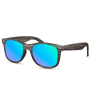 نظارات شمسية الرجل القط. 3 اندر بني/ أزرق (CWI1566)