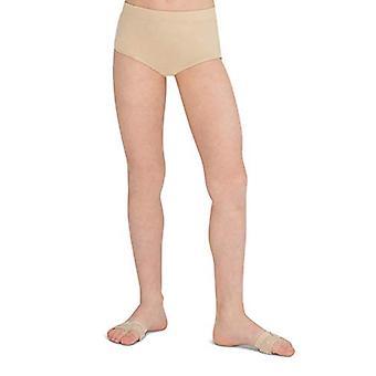 Capezio veľké dievčatá ' stručný, nahé, stredné (7-8)