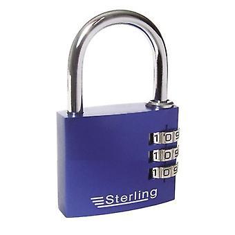 Sterling 3 Dial Combo Padlock