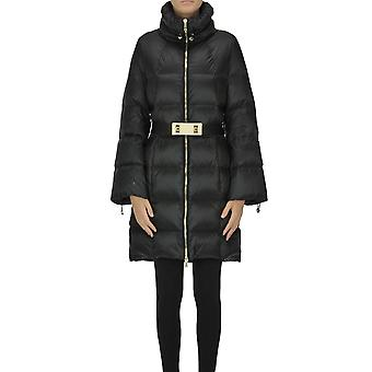 Nenette Ezgl266157 Femme-apos;s Black Nylon Down Jacket