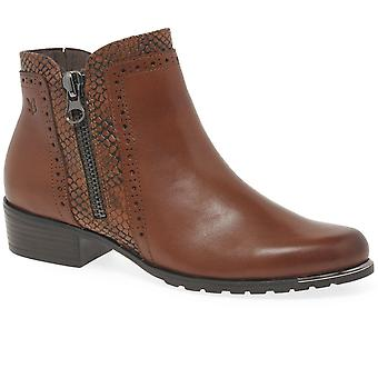 Caprice Amelia Womens Zip Fastening Ankle Boots