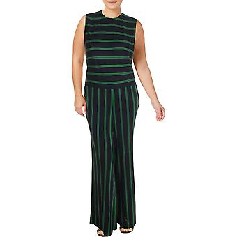 Lauren by Ralph Lauren | Plus Tobi Striped Embellished Jumpsuit
