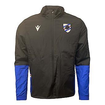 2020-2021 Sampdoria Fleece Windbreaker Jacket (Zwart)