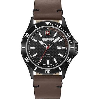 SWISS MILITARY-HANOWA - Wristwatch - Men - FLAGSHIP RACER - 06-4161.2.30.007.05