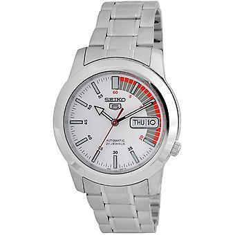 Seiko 5 Gent Watch SNKK25K1 - Stainless Steel Gents Automatic Analogue