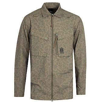 Maharishi Japanese Nylon Ripstop Camo Tech Cargo Shirt