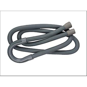 Basics Extend Outlet Hose Grey 0.67m-2m 041203