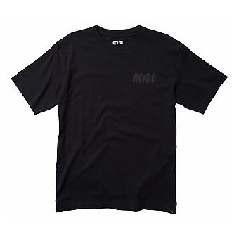 DC Shoes AC/DC Back In Black Unisex T-Shirt in Black