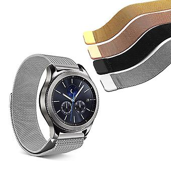 Strapsco milanese mesh band for s3 classic