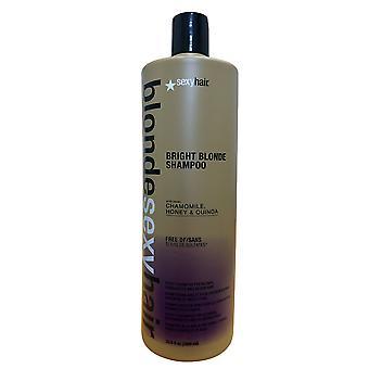 Sexy Hair Bright Blonde Shampoo Sulfate Free 33.8 OZ