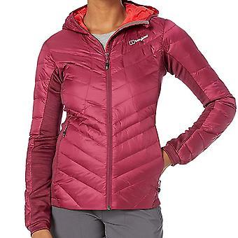 Бергхаус Tephra растянуть отражение вниз женщин дамы изолированные Открытый куртка розовый