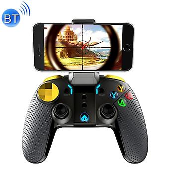 ipega PG-9118 Golden Warrior Wireless Bluetooth Gaming Controller Grip Spielpad mit Halterung & LED-Licht(Schwarz)
