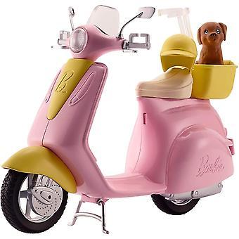 باربي frp56 العقارات mo-ped دراجة نارية لدمية، سكوتر الوردي، مركبة، متعددة الألوان