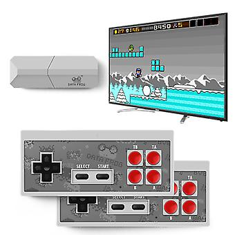 TV Video Game Console 8 Bit Built-in 600/568 Classic Retro Games Potable Mini Wireless Controller AV/HD Output Dandy