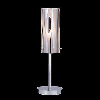 Lámpara de mesa moderna Chrome 1 Light , E27