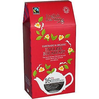 English Tea Organic & Fairtrade English Breakfast 48g (16s) x6