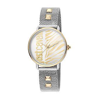 Just Cavalli JC1L077M0095 316L Mineral Crystal Deployment Buckle Horloge