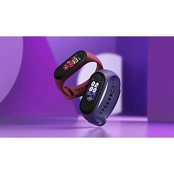 Smart Wristband Bracelet With Touch Screen - Fitness Tracker With Bluetooth