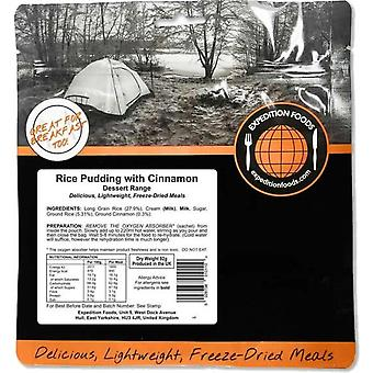 Expedition Foods Rice Pudding with Cinnamon (Dessert Range) -