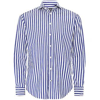 Walker Slater Slim Fit Striped Douglas Shirt
