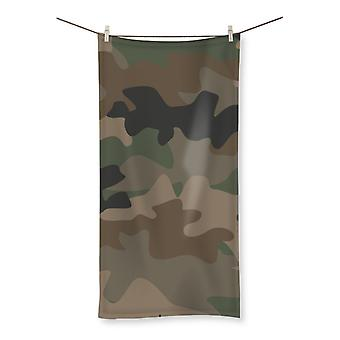 Camofludge 9 beach towel