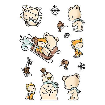 LDRS Creative Snow Much Fun Clear Stamps
