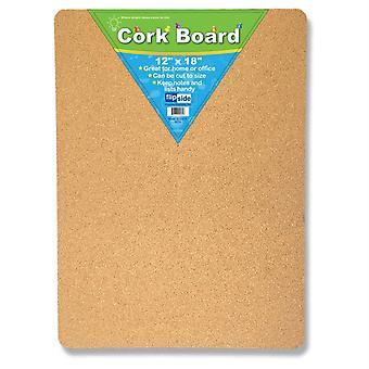 """Cork Bulletin Board, 12"""" X 18"""""""