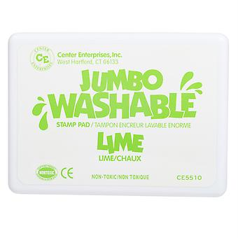 Jumbo Washable Stamp Pad, Green, Lime