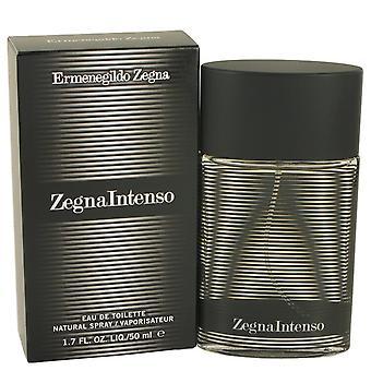Zegna Intenso av Ermenegildo Zegna Eau De Toilette Spray 1.7 oz/50 ml (män)