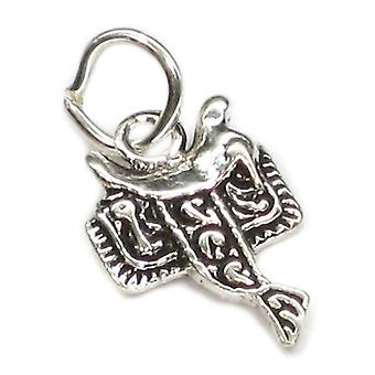 Selle 2d Tiny Sterling Silver Charm .925 X 1 Cheval Selles Charmes - 2699