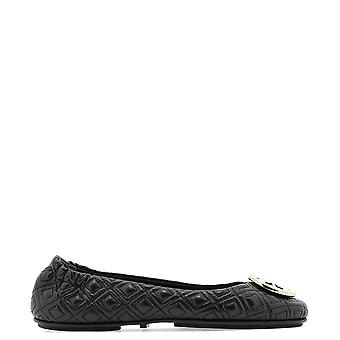 Tory Burch 50736002 Women's Black Leather Flats