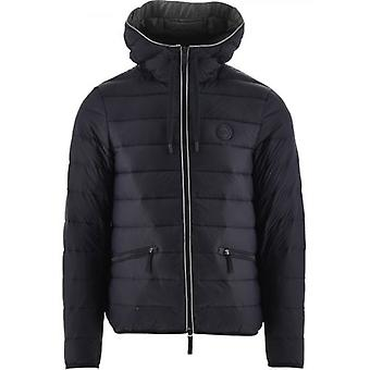 Armani Exchange Navy Down Veste remplie