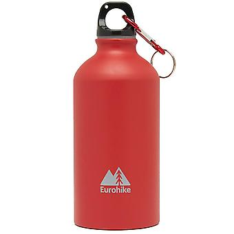 New Eurohike Aqua 0.5L Aluminium Water Bottle Hydration Red