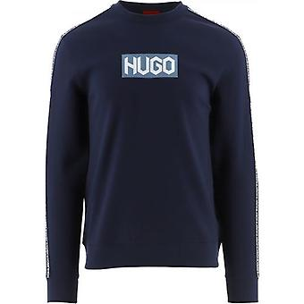 HUGO Navy Dubeshi Pusero