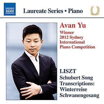 Schubert / Yu, Avan - Schubert Song Transcriptions [CD] USA import
