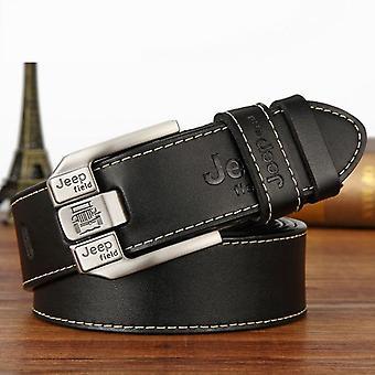 Fashion Genuine Leather Strap Luxury Pin Buckle Men's Belt Cummerbunds Ceinture