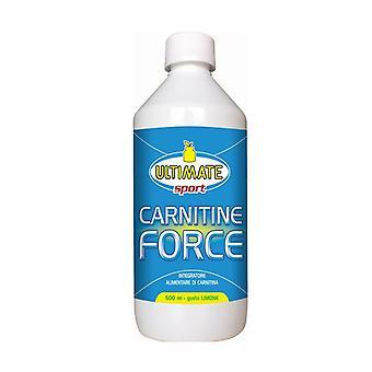 Carnitine Force Lemon Taste 500 ml