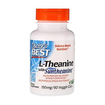 L-Theanine with Suntheanine, 150mg 90 vegetable capsules