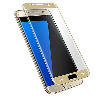 Screen protector Galaxy S7 Edge Hardglass Reinforced Edges Curved 3mk gold