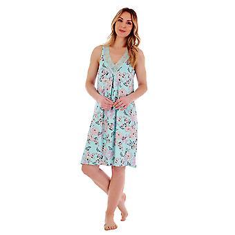 Slenderella Gaspe GL77700 Women's Floral Nightdress