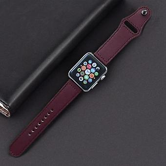Apple Watch Band Genuine Leather