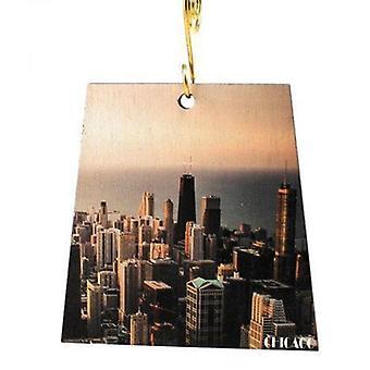 Chicago Cityscape Ornament #s997