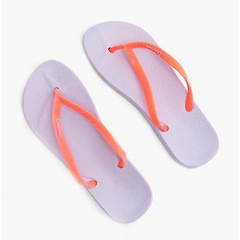 Ipanema Anatomica Tan 21 Ladies Flip Flops Coral/violet