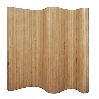 Room Divider Bamboo Natural 250x165 cm